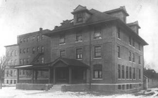1909 Hospital and Nurses Home