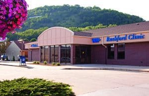 Winona Health Rushford Clinc in Rushford, Minnesota