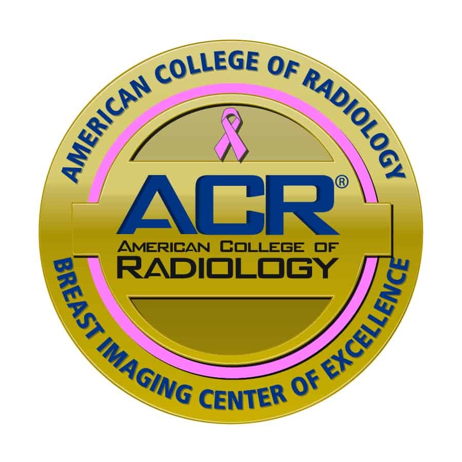 American College of Radiology Breast Imaging Center of Excellence emblem