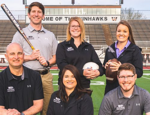 Athletic trainers help student athletes prevent getting sidelined