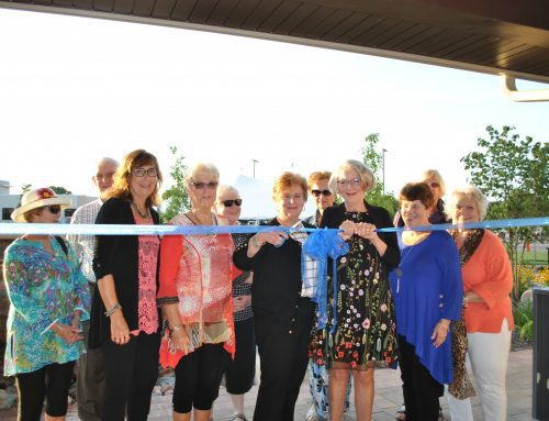Foundation thanks Volunteers and celebrates new pavilion in Robinson Healing Garden
