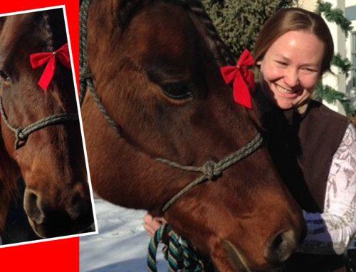 Meeka brings merry memories to Lake Winona Manor resident