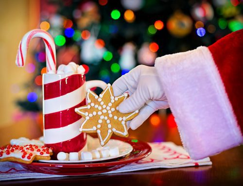 You're invited to Cookies with Santa at Lake Winona Manor