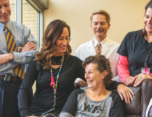 Throughout my journey, I truly felt cradled in care. Kelly Jo's Story.