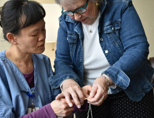 Service with Heart…Winona Health General Surgeon learns to knit for breast surgery patients