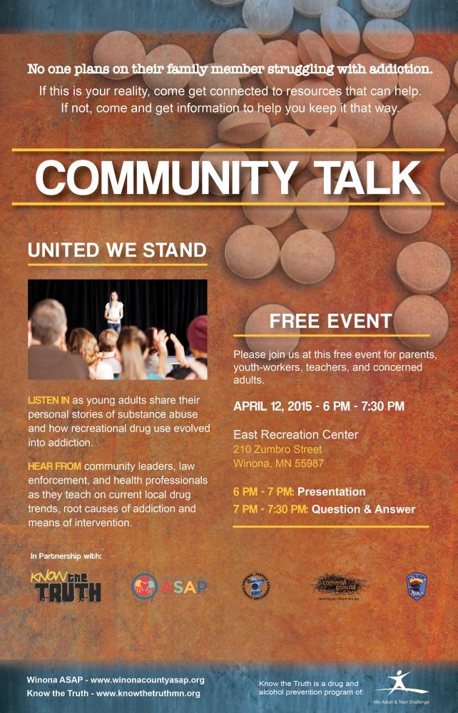 Community Talk 4.12.16