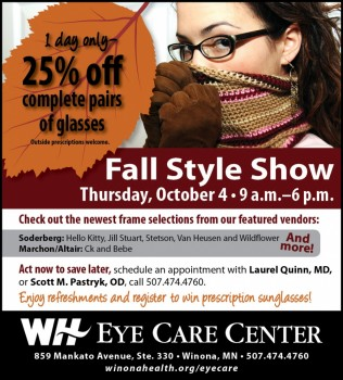 Eye Care Fall Style Show - October 4, 2012