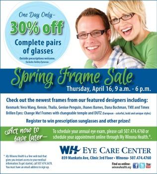 EyeCare Spring FrameShow15 Graphic