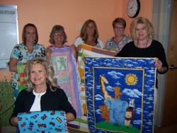 FBC Baby Quilts from Quilters Guild sept 2013