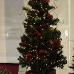 """Nola's Naughty but Nice Tree"" Donated By: Nola's Flowers"