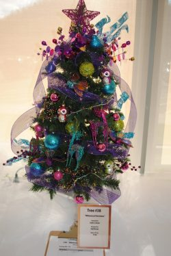 """""""Whimsical Christmas."""" Donated & Designed by Jodi Brom."""