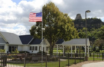 WH Buildings Flag Sugarloaf crop