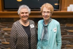 Jenny Kahl and Mary Brenno