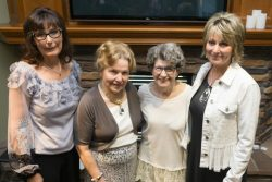 Kim Schwab, Marlene Mulrooney, Julianne Schwemer and Bonnie Kelly
